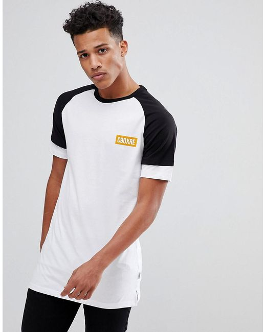 Jack & Jones - White Core T-shirt With Layered Sleeve Detail for Men - Lyst