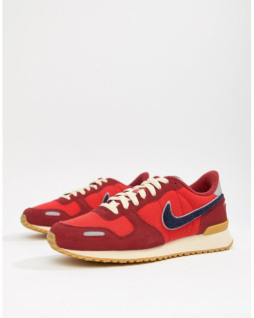 finest selection 58aa7 1cad8 Nike - Air Vortex Se Trainers In Red 918246-600 for Men - Lyst ...