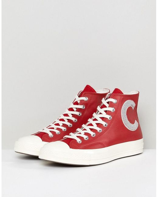 cheap big sale original sale online Converse Chuck Taylor All Star '70 Hi Plimsolls In Red 159677C cheap sale outlet looking for for sale sale outlet or3itF
