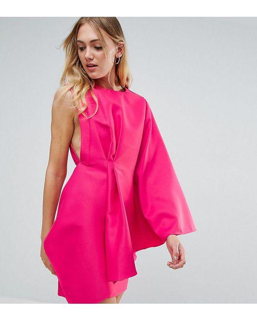 ASOS | Blue One Shoulder Mini Dress | Lyst