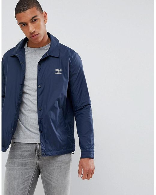 Barbour - Blue Coniston Casual Jacket In Navy for Men - Lyst