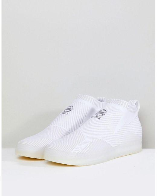 Lyst Adidas Originals 3st Pk Pk Pk Sneakers In Hvid Cg5613 in e73806