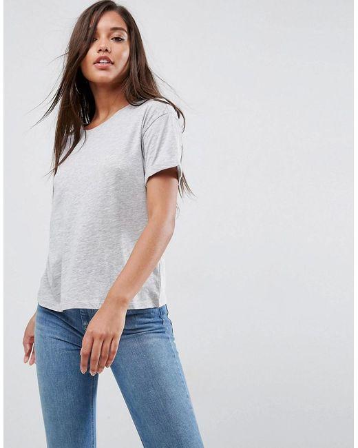 ASOS - Gray Ultimate Easy Boyfriend T-shirt - Lyst