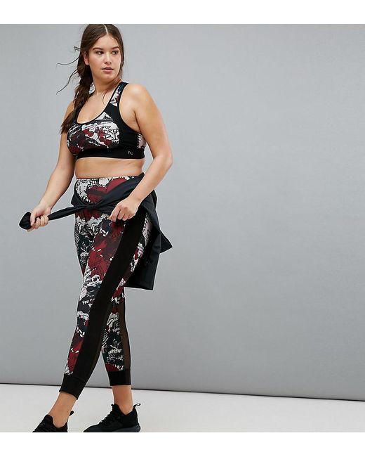 Nola | Black Reversible Printed Gym Legging | Lyst