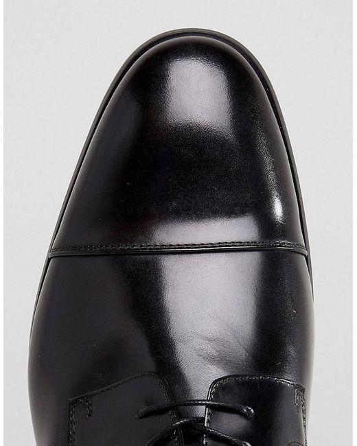 Aldo Chaussures En Cuir Derby Galerrange En Noir - Noir etbnu