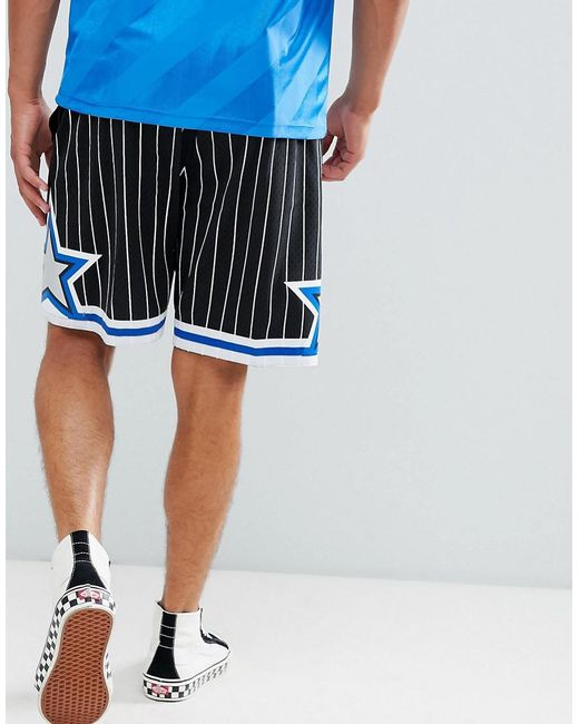 sale retailer aba80 f3a59 ... Mitchell   Ness - Nba Orlando Magic Mesh Swingman Shorts In Black for  Men - Lyst