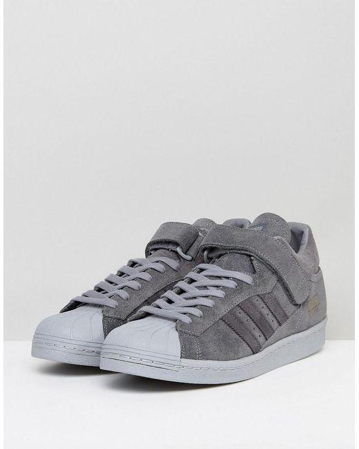 newest 0d2e0 40bb4 adidas-originals-Grey-Superstar-Trainers-In-Grey-Bz0210.jpeg