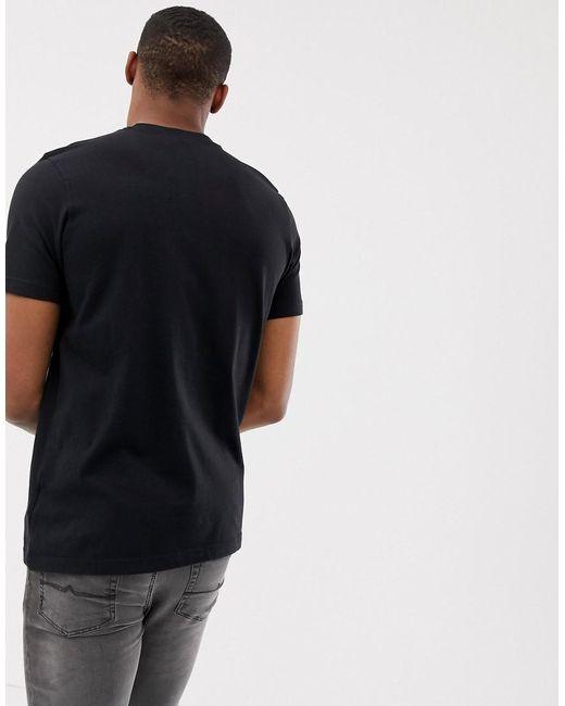 f1d9184845 adidas Originals Trefoil T-shirt in Black for Men - Save 26% - Lyst