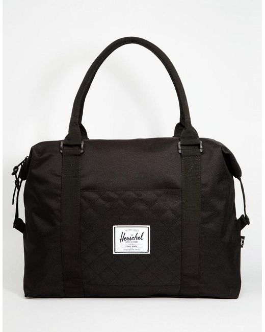 Herschel Supply Co.   Black Strand Quilted Carryall 18l for Men   Lyst