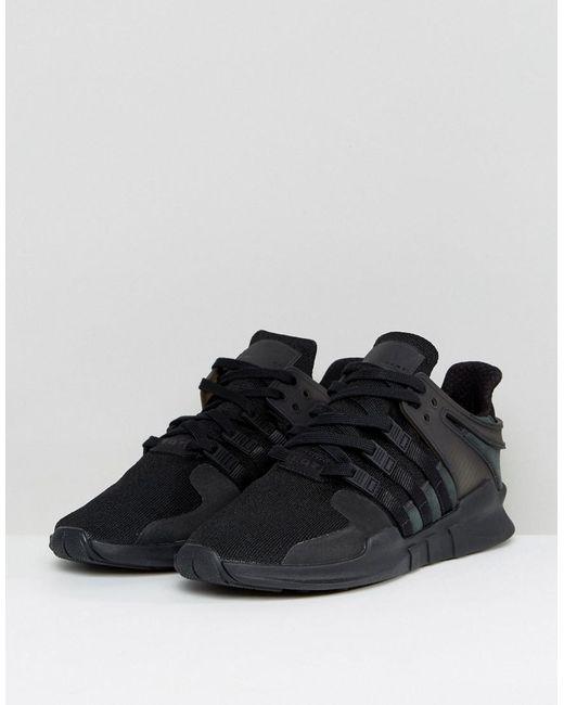 b594b6a9e3cb ... sports shoes d063d 2570d ... Adidas Originals - Eqt Support Adv In Black  Cp8928