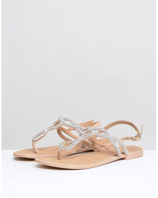FOOTWEAR - Toe post sandals Twist & Tango eSDyF