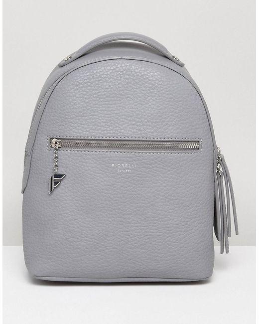 Fiorelli | Gray Anouk Mini Backpack In Grey | Lyst