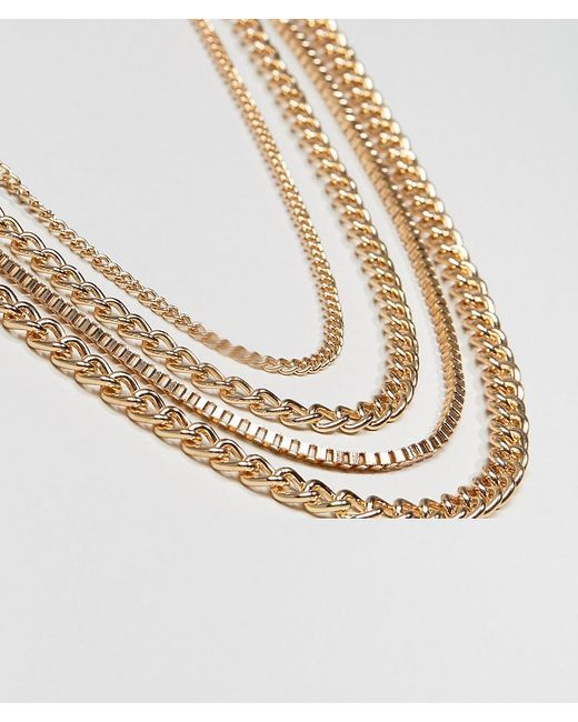 ASOS | Metallic Chain Pack for Men | Lyst