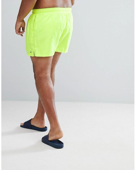 950f40109e ... Nike - Nike Plus Volley Super Short Swim Short In Yellow Ness8830-737  for Men