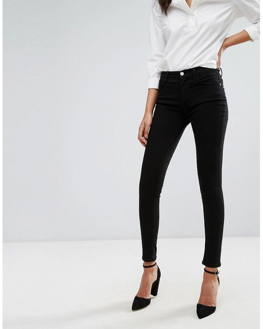 French Connection - Black Rebound Jeans - Lyst