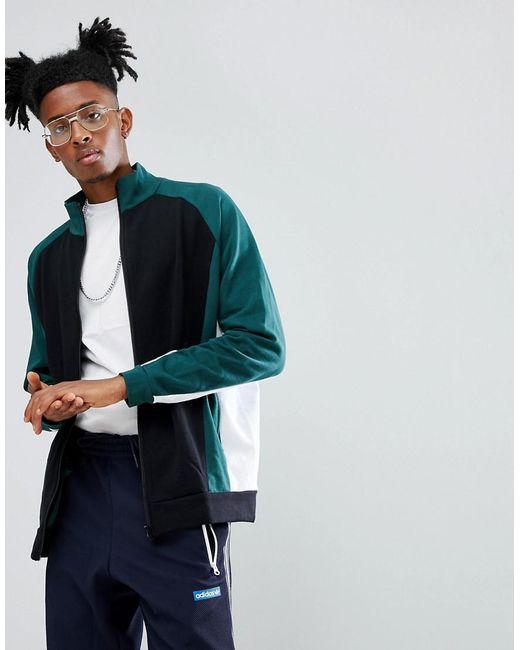 ASOS DESIGN - Black Asos Oversized Cut & Sew Track Jacket for Men - Lyst