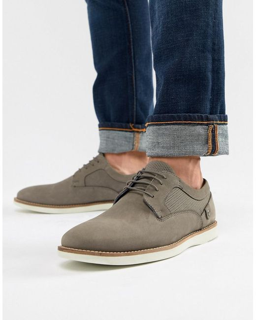 Red Tape - Gray Holker Casual Lace Up Shoes In Grey for Men - Lyst