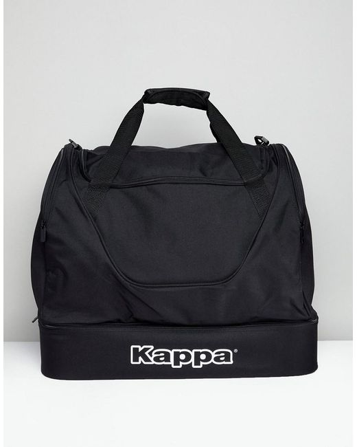 76d74d9ace50af Kappa - Black Sports Holdall for Men - Lyst ...