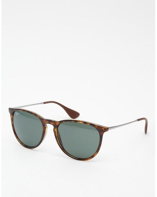 d01e399952 Ray-Ban - Brown Gafas de sol redondas Erika 0RB4171 de for Men - Lyst ...