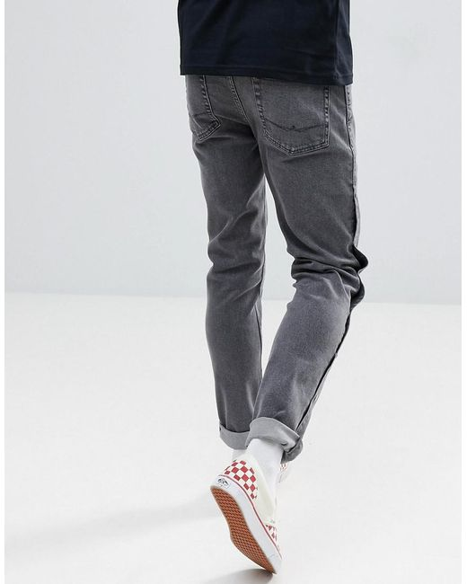 Outlet Prices Perfect Online DESIGN Skinny Jeans In Washed Black With Popper Detail - Washed black Asos 6bNIoMfm