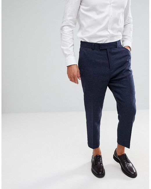 Sale Best Tapered Smart Trousers In Khaki Wool Mix - Dark green Asos Hot Sale Cheap Online Clearance Release Dates 5hscRf