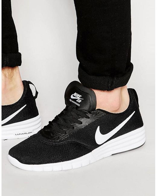 Nike | Black Nike Paul Rodriguez 9 Trainers 749564-010 for Men | Lyst