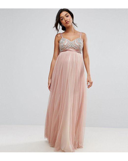 Maternity Tulle Dress