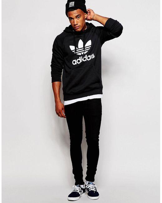 bdd4f799aa0 adidas originals leopard trefoil sweatshirt