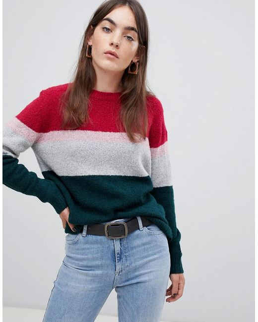B.Young - Multicolor Stripe Sweater - Lyst