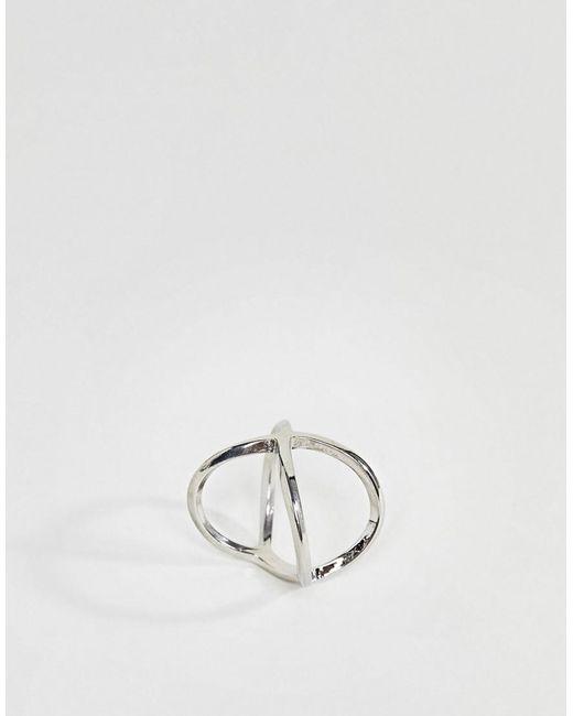 ASOS | Metallic Kiss Ring | Lyst