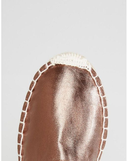 Haisha Metallic Bronze Espadrilles - Bronze Pieces 9H4t79Hv