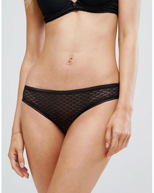 Heidi Klum - Black Roman Crush Brief - Lyst