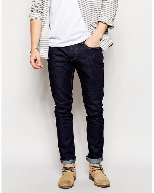 Pretty green Skinny Jeans in Blue for Men | Lyst