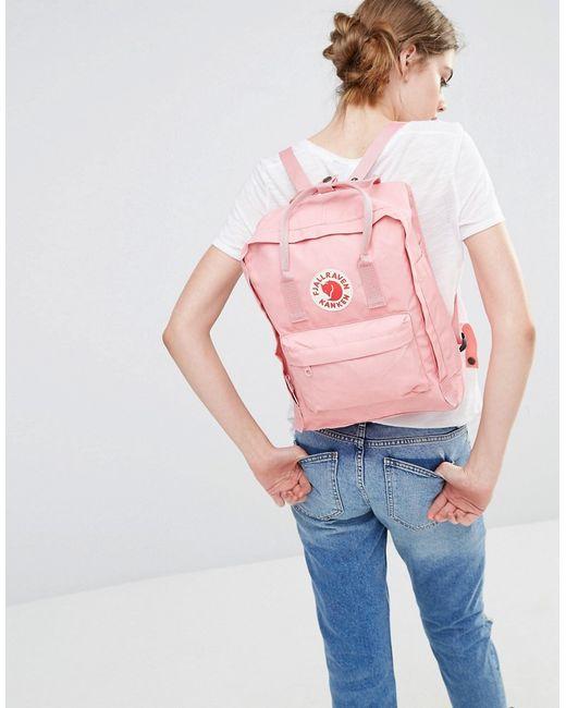 Fjallraven Classic Kanken In Pastel Pink In Pink Lyst