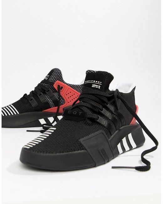 newest f1c8c 8f6fd Adidas Originals - Eqt Bask Adv Sneakers In Black Aq1013 for Men - Lyst ...
