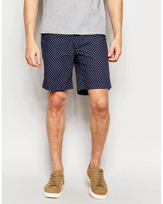 Polo Ralph Lauren | Blue Shorts With Nautical Print for Men | Lyst