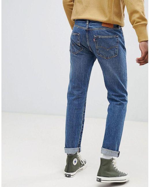 7f074e1cba3 ... Levi's - Blue Levi's Original 501 Straight Fit Jeans for Men - Lyst
