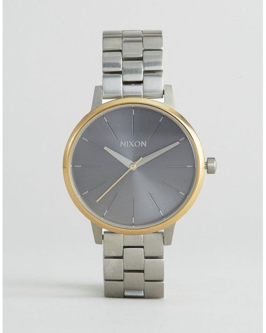 Nixon   Brown Gold Time Teller Watch A045-508   Lyst