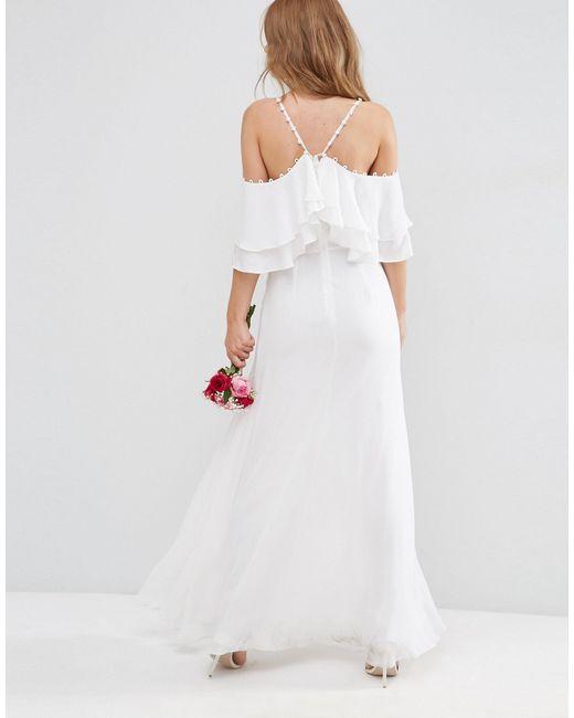 Cold Shoulder Dresses For Wedding