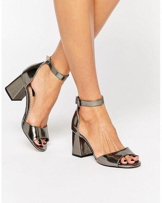 Miss KG Denim Blue Flat Sandals   ASOS