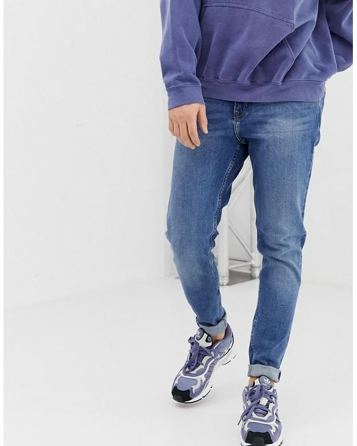 better price latest style new appearance Men's Cone Slim Tapered Jeans In Marfa Blue