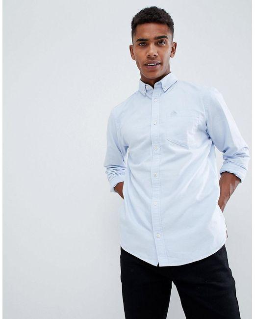 Produkt Basic Oxford Shirt In Slim Fit In Blue For Men Lyst