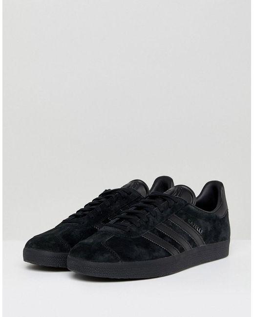 48ae20bc35 Adidas Originals - Gazelle Sneakers In Black Cq2809 for Men - Lyst ...