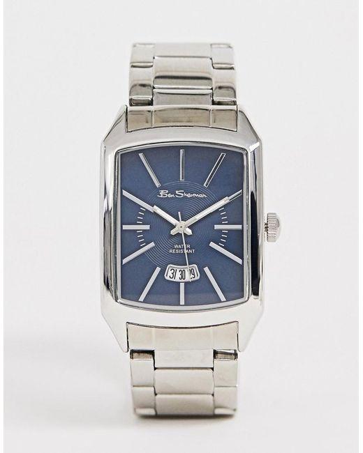 ventas calientes 6e52c 56478 Reloj de pulsera para hombre con esfera cuadrada R790A de color azul