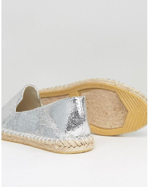 asos jeanie wide fit two pack espadrilles in multicolor lyst. Black Bedroom Furniture Sets. Home Design Ideas