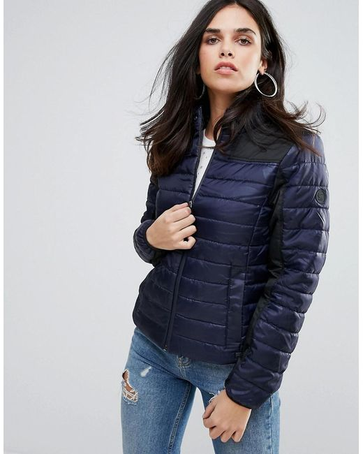 lyst g star raw tube quilted jacket in black. Black Bedroom Furniture Sets. Home Design Ideas