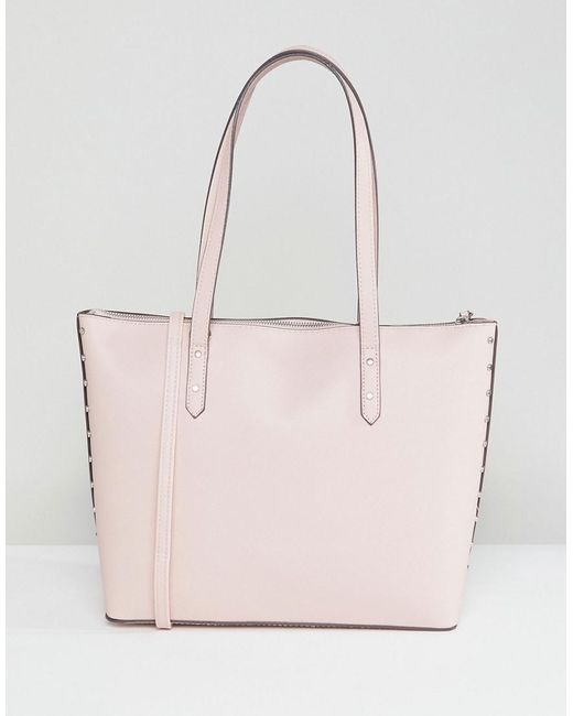 Bershka - Pink Pastal Shopper Bag - Lyst