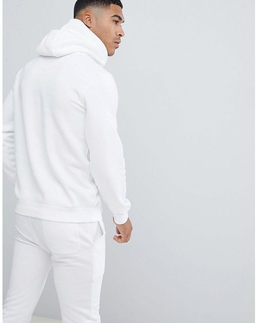 0caf0fa94 Nike Club Hoodie In White in White for Men - Lyst