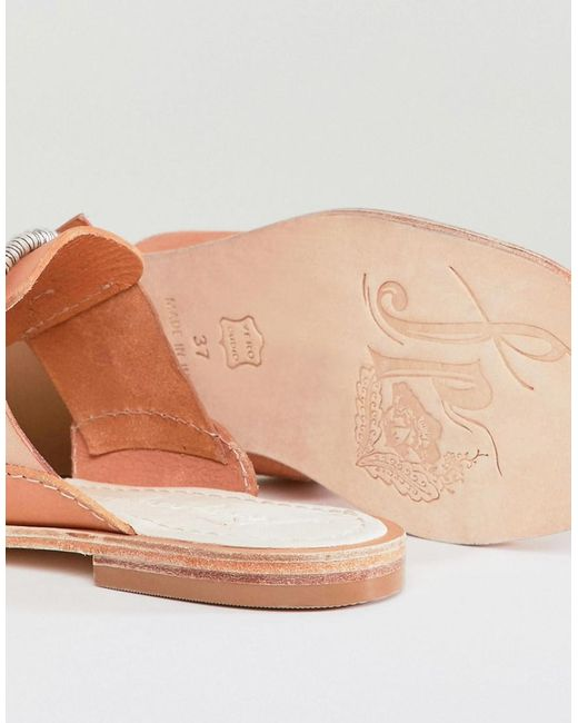 Maui Sandal with Rope Tie - Natural Free People kly3r0VE