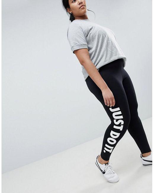 Clearance Free Shipping Free Shipping Cost Nike Plus Jdi Leggings In Pale beWizPhc7F
